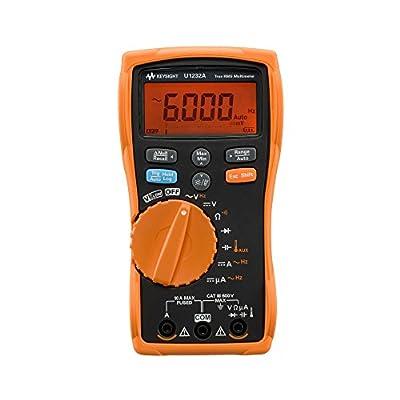 Keysight Technologies U1232A True RMS 6000 Count Handheld Digital Multimeter