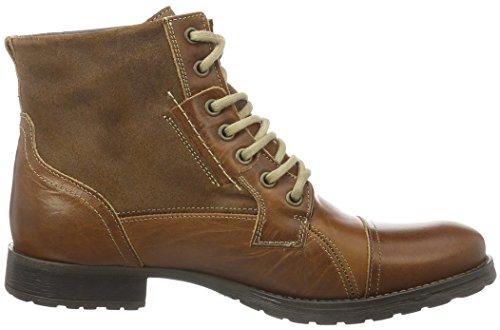 BULLBOXER 358K83626D, Zapatillas de Estar por Casa para Hombre, Marrón, 43 EU