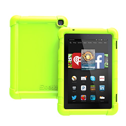 (Fire HD 7 (2014 Model) Case - Poetic Fire HD 7 Case [Turtle Skin Series] - [Corner/Bumper Protection] [Grip] [Sound-Amplification] Protective Silicone Case for Amazon Fire HD 7 (2014 Model))