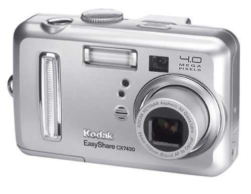 amazon com kodak easyshare cx7430 4 mp digital camera with