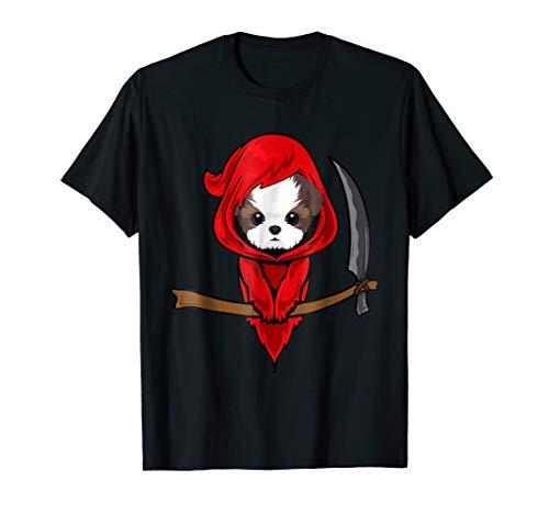 (Shih Tzu Grim Reaper Halloween Costume)