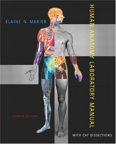 Human Anatomy Laboratory Manual with Cat Dissections (4th Edition)