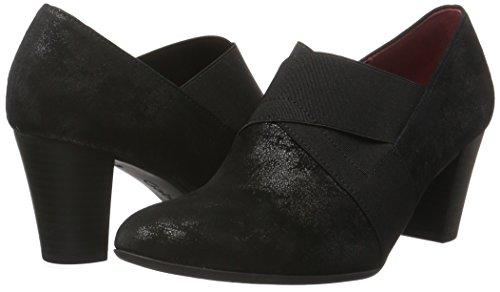 Comfort schwarz Fashion Scarpe fu Donna Tacco Nero Con Gabor Rot 97 AdxwOA