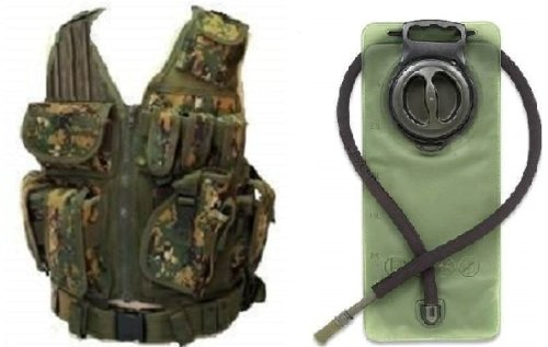 Ultimate Arms Gear Woodland Digital Camo Lightweight Edition