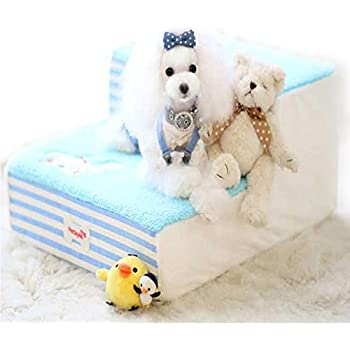 Amazon.com : Cute Fleece Pet Dog Cat Bed Stairs For Small