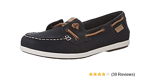cf74ac514347 Amazon.com | SPERRY Women's Coil Ivy Perf Boat Shoe | Oxfords