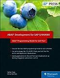 ABAP Development for SAP S/4HANA: ABAP Programming Model for SAP Fiori