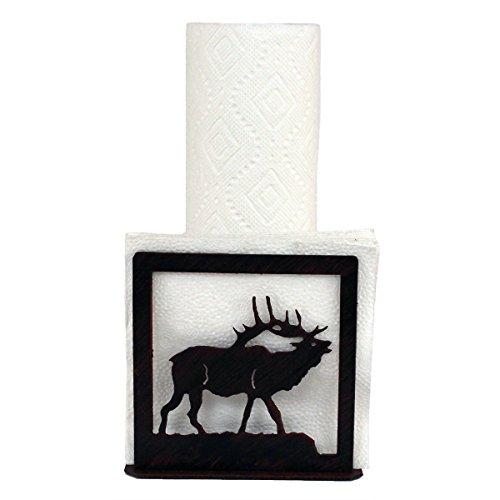 Iron Elk Short Paper Towel/Napkin Holder