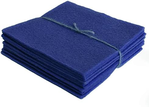 Blue Bonnet 100/% Virgin Wool Felt Fabric