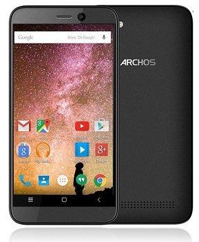 bolsa del cinturón / funda para Archos 40 Power, negro + Auriculares   caja del teléfono cubierta protectora bolso - K-S-Trade (TM)