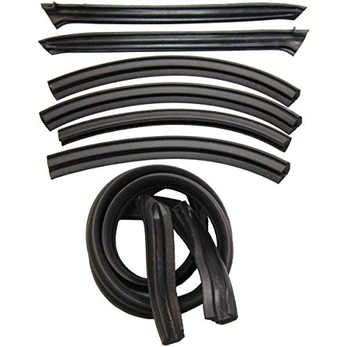 Steele Rubber Products - Convertible Roof Rail Kit - Sold and Priced as a Set - 70-2804-65