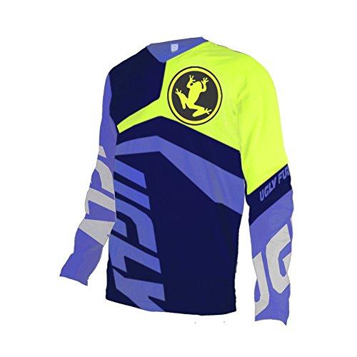 Uglyfrog Downhill Shirt Winter Thermal Long Sleeve Enduro Offroad Bike Moto Jersey ()