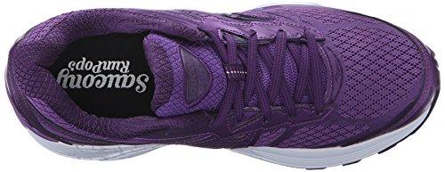 Femme Course Violet 9 De Saucony Chaussures W Guide XwR7qY