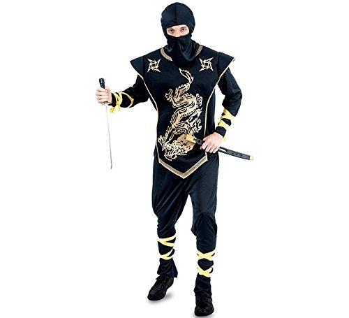 Fyasa 706114-T04 - Disfraz de Ninja para 12 años de Edad ...