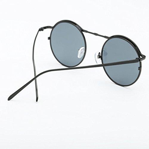 bb8d3283c6 60% de descuento Las Gafas De Sol Para Mujer Clásicas Retros Del Metal  Envuelven Las Gafas Redondas Del Marco ...