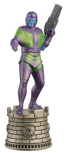 MARVEL CHESS FIGURINE COLLECTION MAGAZINE #11 KANG, BLACK ROOK