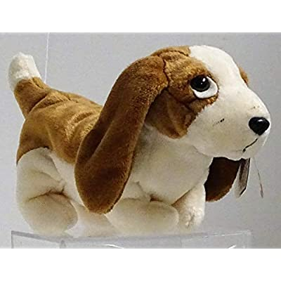 BEANIE BABIES Ty, Tracker The Basset Hound Dog: Toys & Games