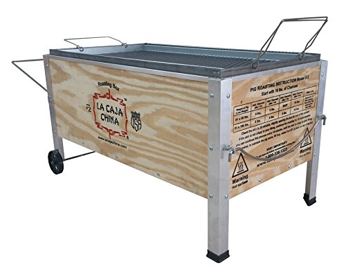 La Caja China Model #2 (Grill Steel Charcoal Cajun Stainless)
