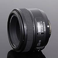 YN50MM F1.8 Large Aperture Auto Focus Lens full frame as AF-S 50mm f1.8 for Nikon D3300 D5300 D5100 D750 Camera DSLR