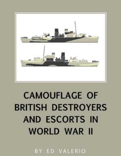 (Camouflage of British Destroyers and Escorts in World War II)