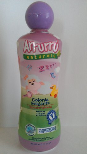 Arrurru Naturals Relaxing Cologne for Babies~Arrurru Colonia Relajante 13.5 oz by BELLEZA EXPRESS,