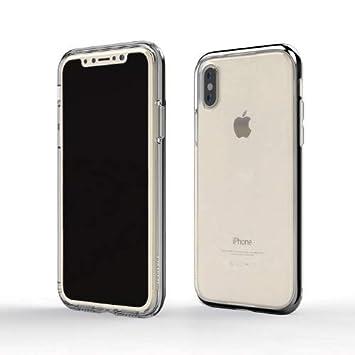 9deb2ebfdb motomo iPhone XS Max ケース INFINITY CLEAR CASE ブラック(モトモ インフィニティ クリアケース)6.5