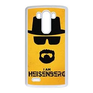 heisenberg breaking bad LG G3 Cell Phone Case White Cover protective Skin Shield PJZ003-2301594