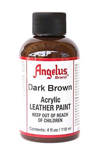 Angelus Acrylic Leather Paint 4oz Dark Brown