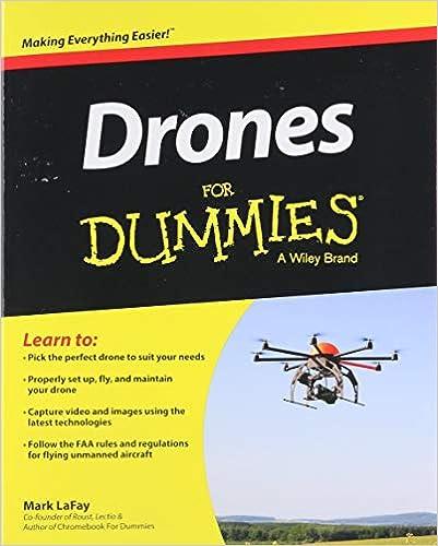 Drones For Dummies: Mark LaFay: 9781119049784: Amazon com: Books