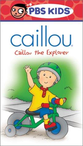 Caillou - Caillou the Explorer [VHS]
