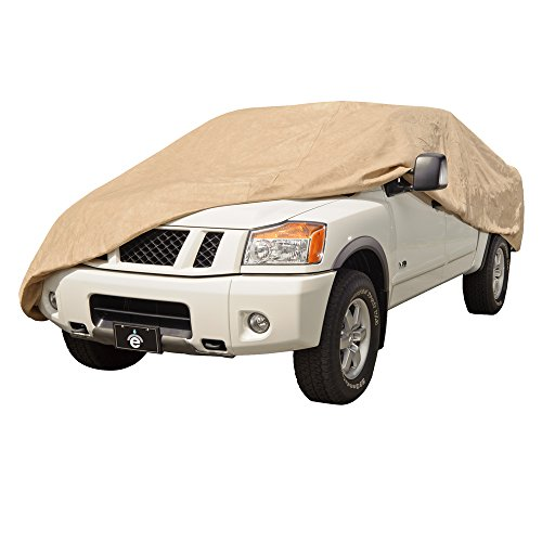 EmpireCovers EMP822X Titan 4 Layer Truck Cover Fits Extended Cab - (Tan) (Inch 56 Cab)