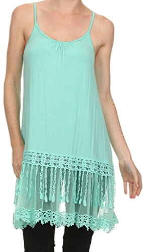 Bridal Embroidered Tank Top - 9