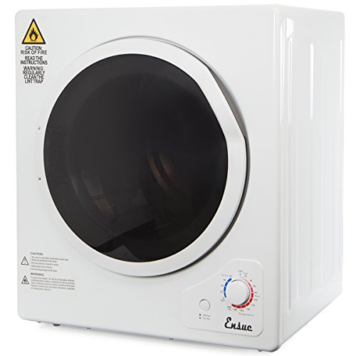 Electric Portable 11LBs Tumble Compact Dryer Stainless Steel