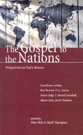 Download The Gospel to the Nations: Perspectives on Paul's Mission: In Honour of Peter T. O'Brien pdf epub