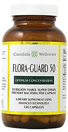Amazon.com: Flora-Guard 50 (120 cápsulas) Acido Candida ...