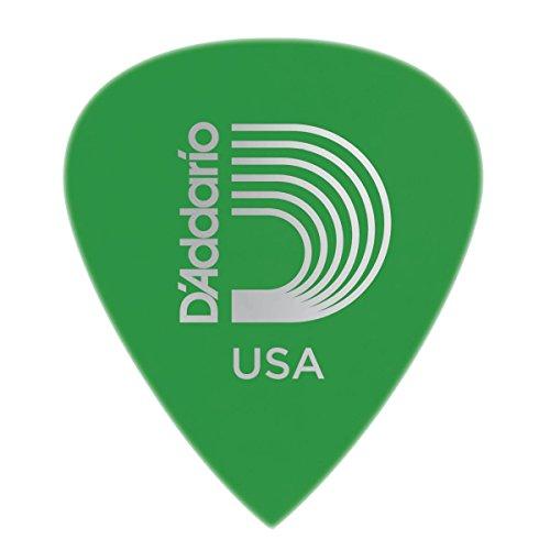 Planet Waves 6DGN4-10 Duralin Precision Guitar Picks, Medium, 10 Pack (Green Planet Guitar Picks Waves)