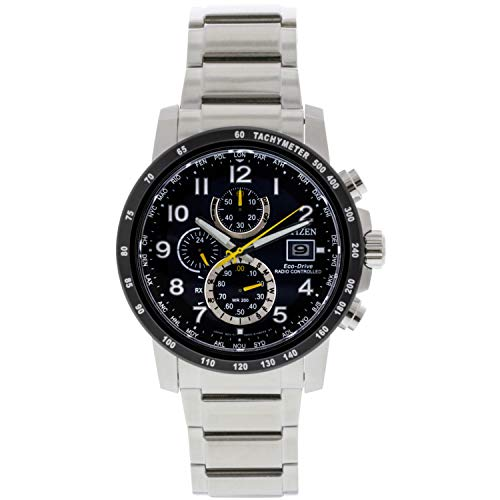 Citizen Men's AT8124-91L Silver Stainless-Steel Eco-Drive Fashion Watch