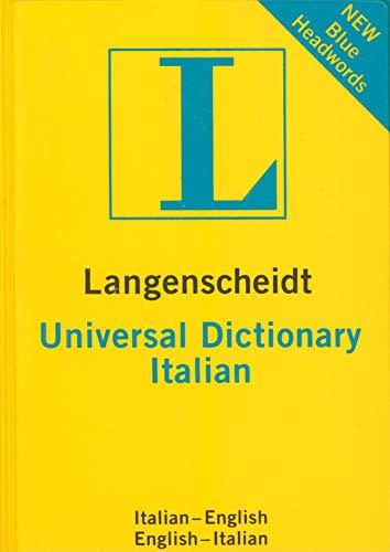 Langenscheidt Universal Dictionary Italian (Langenscheidt Universal Dictionaries)