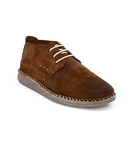 ROAN Men's Tibor Leather Shoe (Light Brown 10.5 M -