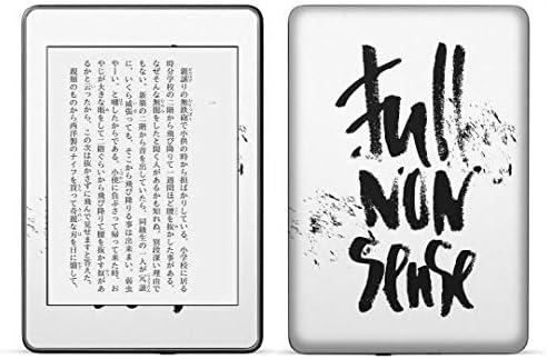 igsticker kindle paperwhite 第4世代 専用スキンシール キンドル ペーパーホワイト タブレット 電子書籍 裏表2枚セット カバー 保護 フィルム ステッカー 016049 英語 文字 おしゃれ