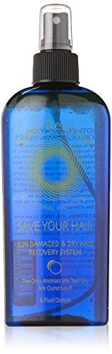 Hair Moisturizer and Detangler - Save Your Hair - Sun Damaged & Dry Hair Recovery 8oz