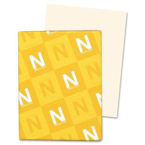 Wholesale CASE of 15 - Wausau Exact Vellum Bristol Paper-Vellum Bristol Paper,67 lb,8-12''x11'',92 Bright,250/PK,IY by WAU