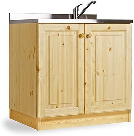 Base Per Lavello Cucina.Arredamenti Rustici Base Lavello Appoggio Da 90 Com2 Vasche Mobilegrezzo No Lucidato Amazon It Casa E Cucina