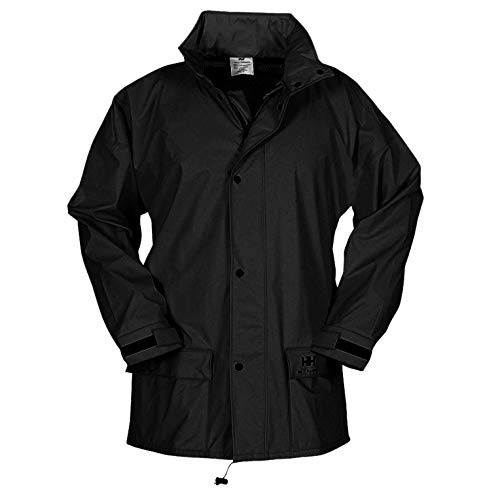 - Helly Hansen Work Wear Men's Workwear Impertech Deluxe Rain and Fishing Jacket, Black, L