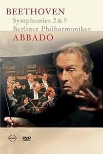 Claudio Abbado/Berliner Philharmoniker: Beethoven - Symphonies 2 & 5 [Import]