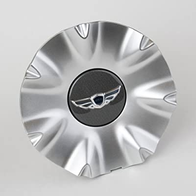Hyundai Genesis Wheel Center Caps with Hood and Trunk Emblem Package: Automotive