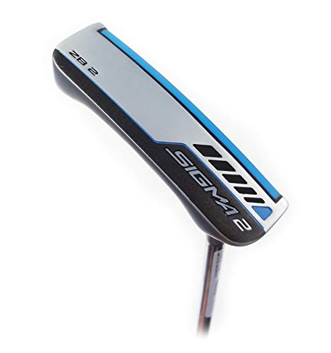 PING Sigma 2 ZB2 Platinum Putter (PING PP60 Pistol Putter Grip - Midsize) (Right, Adjustable 32-36)