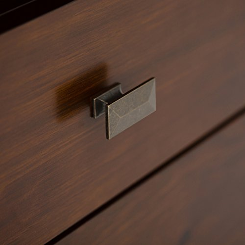 Simpli Home Artisan TV Media Stand for TVs up to 60'', Medium Auburn Brown by Simpli Home (Image #6)'
