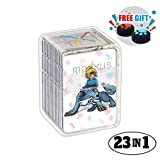 BotW 23pcs Nfc Game Cards for the Legend of Zelda Breath of the Wild Switch / Wii U with Crystal Case: more info