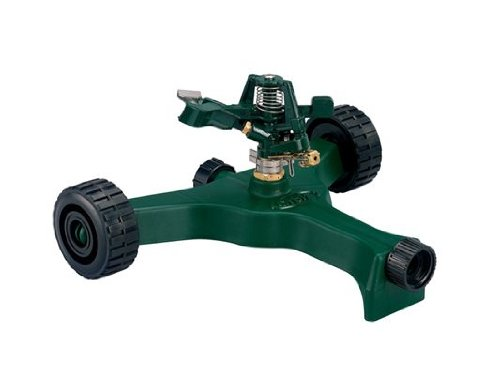 2 Pack - Orbit Lawn Watering Impact Sprinkler on Wheeled ...